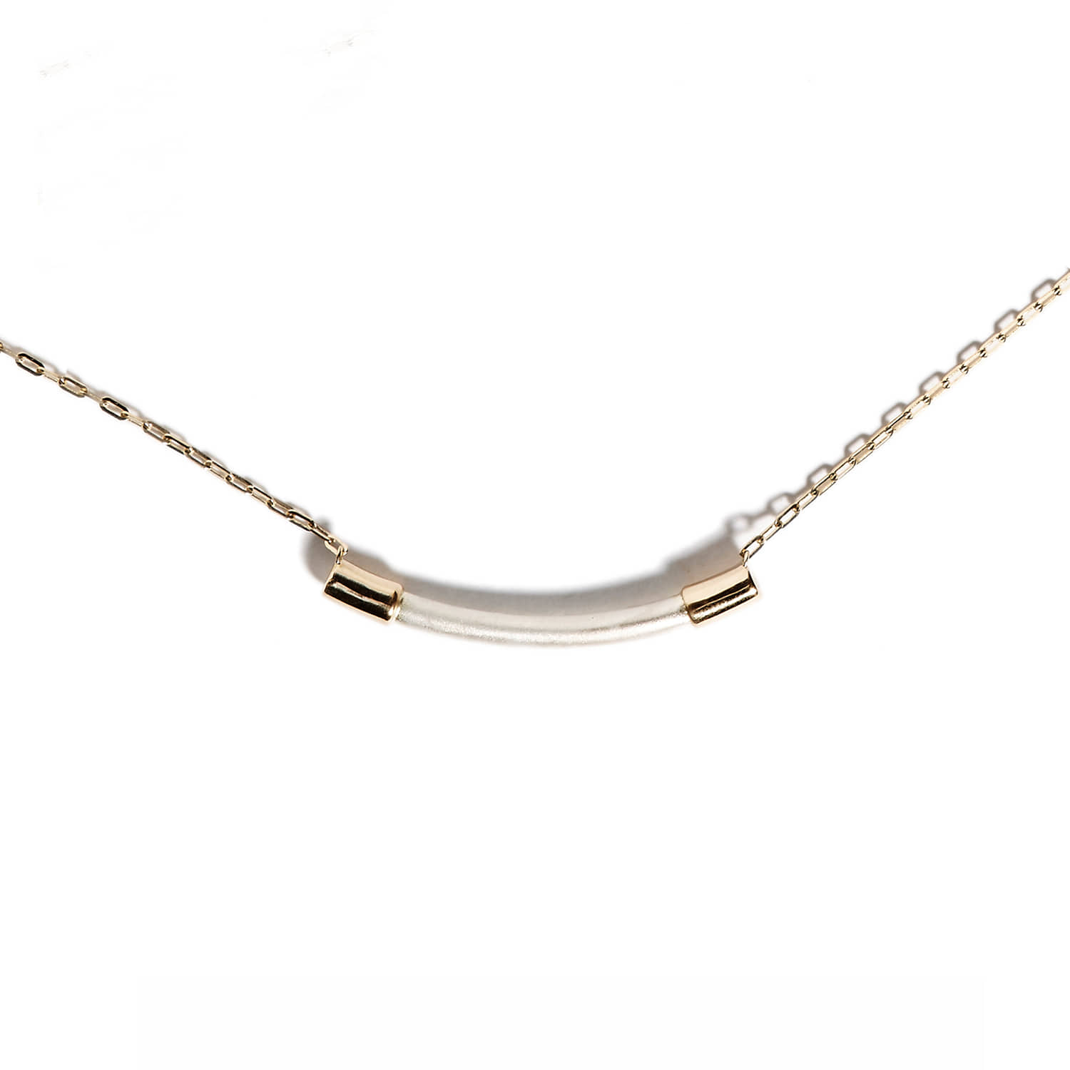NS_Gold chain necklace