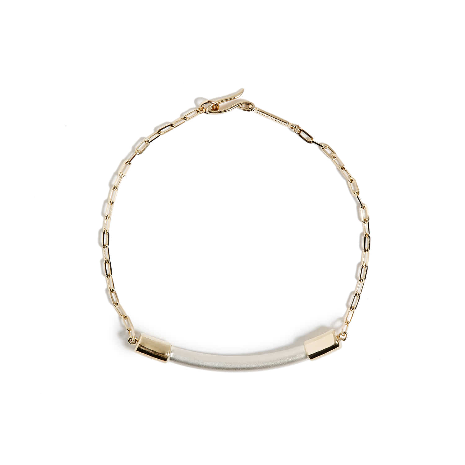 NS_Gold chain bracelet
